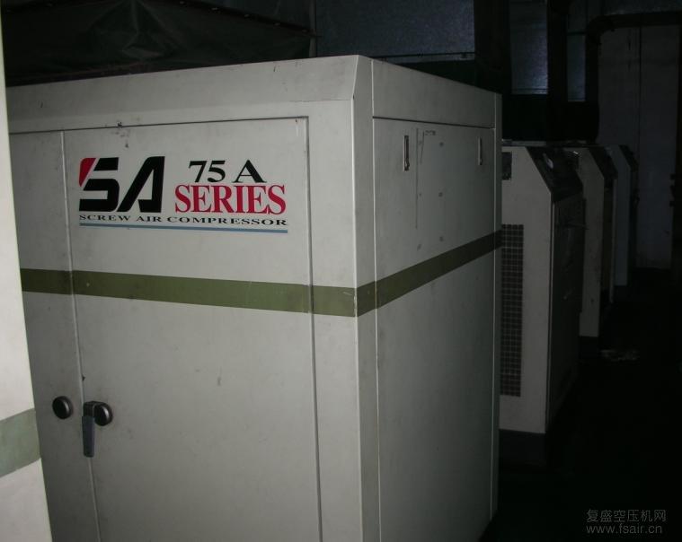 上海复盛空压机主板显示电机过载是什么原因?